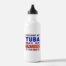 Touching my Tuba May b Water Bottle