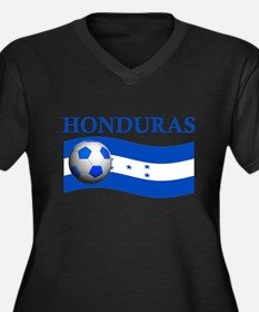 TEAM HONDURAS WORLD CUP Women's Plus Size V-Neck D
