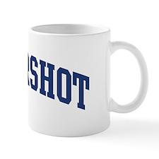 HENDERSHOT design (blue) Mug