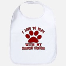 I Like Play With My Colorpoint Shorthair Cat Bib