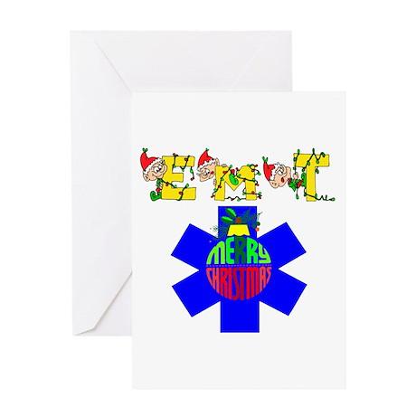 EMT Christmas Gift Greeting Card
