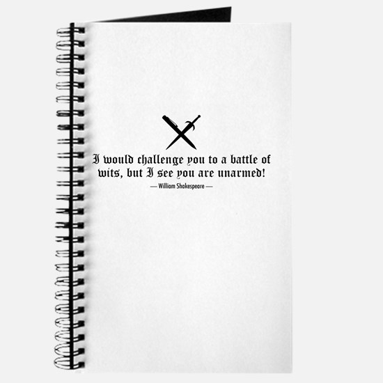 A Battle of Wits Journal