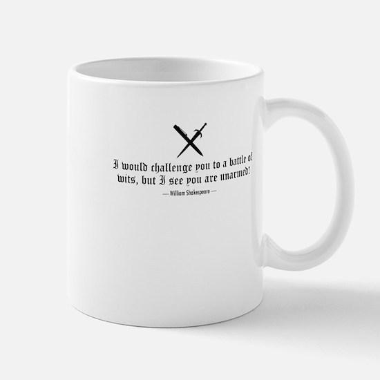 A Battle of Wits Mug