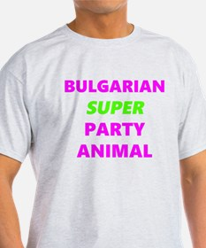 Bulgarian Party Animal T-Shirt