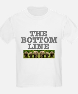 THE BOTTOM LINE - RHINOS T-Shirt