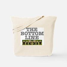 THE BOTTOM LINE - RHINOS Tote Bag