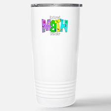 Cool Retired math teacher Travel Mug