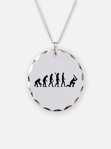 Evolution Cricket Necklace