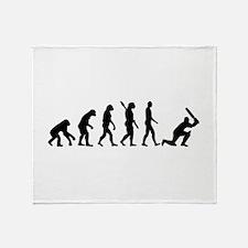 Evolution Cricket Throw Blanket