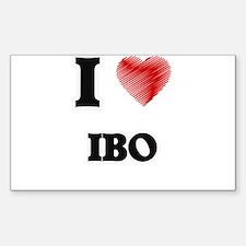 I Love Ibo Decal