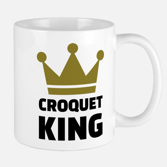 Croquet king champion Mug