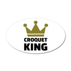 Croquet king champion Wall Decal