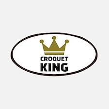 Croquet king champion Patch