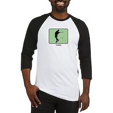 Mens Tennis  (GREEN) Baseball Jersey
