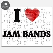 I Love Jam Bands Puzzle