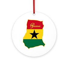 Cool Ghana Ornament (Round)