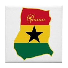 Cool Ghana Tile Coaster