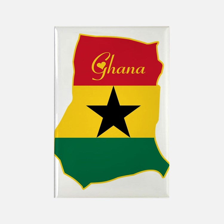 Cool Ghana Rectangle Magnet