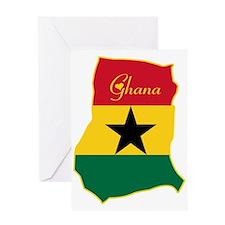Cool Ghana Greeting Card