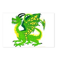 Great Green Dragon Postcards (Package of 8)