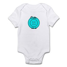 Cute as a button Infant Bodysuit