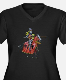 KNIGHT Plus Size T-Shirt