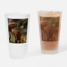 Cute Lion photo Drinking Glass