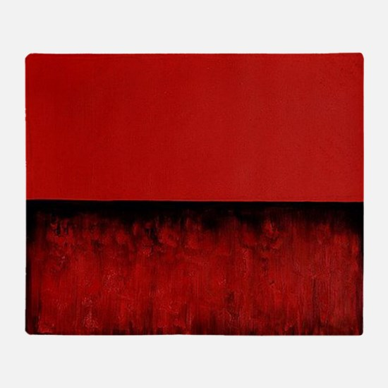 ROTHKO_RED HOT CHRISTMAS Throw Blanket