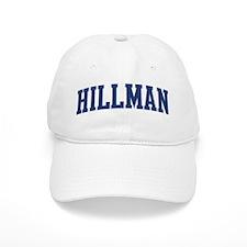 HILLMAN design (blue) Baseball Cap