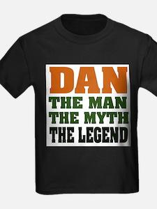 DAN - The Legend Ash Grey T-Shirt