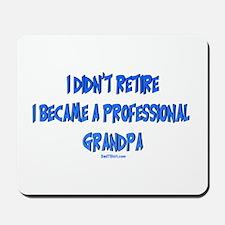 Professional Grandpa Mousepad