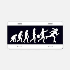Funny Darwinism Aluminum License Plate