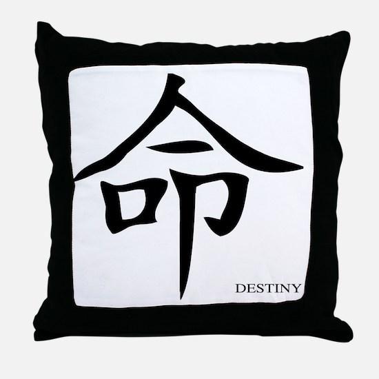 Cute Direction Throw Pillow