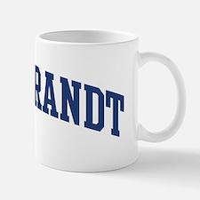HILDEBRANDT design (blue) Mug