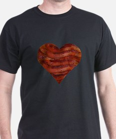 I'm bacon hearted T-Shirt