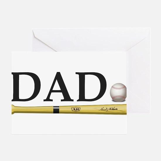 Baseball Dad Greeting Cards