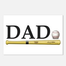 Baseball Dad Postcards (Package of 8)