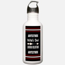 Personalized Library V Water Bottle