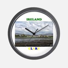 Cottages, Ballyvaughan Wall Clock