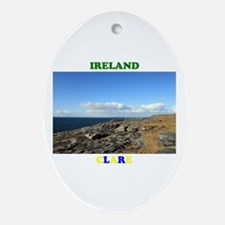 The Burren Oval Ornament