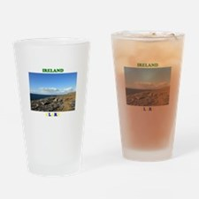 The Burren Drinking Glass