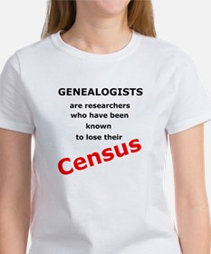 Red Losing Census Women's T-Shirt