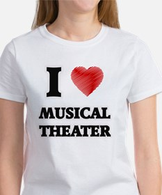 I Love Musical Theater T-Shirt