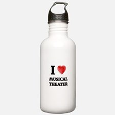 I Love Musical Theater Water Bottle