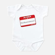Aloha... Kaikamahine Infant Bodysuit