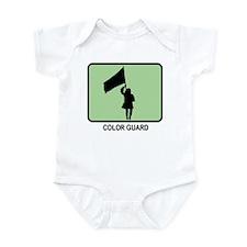 Color Guard (GREEN) Infant Bodysuit