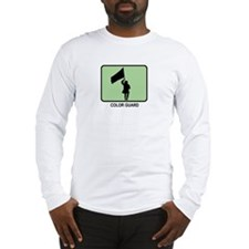 Color Guard (GREEN) Long Sleeve T-Shirt