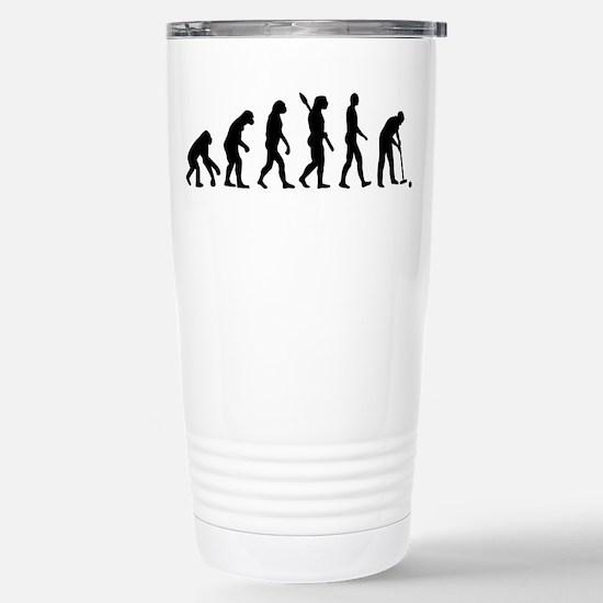 Evolution croquet Stainless Steel Travel Mug