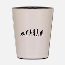 Evolution croquet Shot Glass