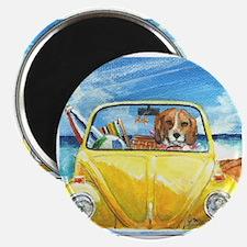 Cute Dog car Magnet